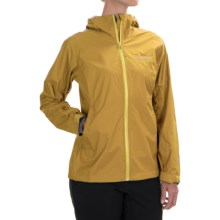 Columbia Sportswear EvaPOURation Omni-Tech® Jacket - Waterproof (For Women) in Golden Nugget - Closeouts