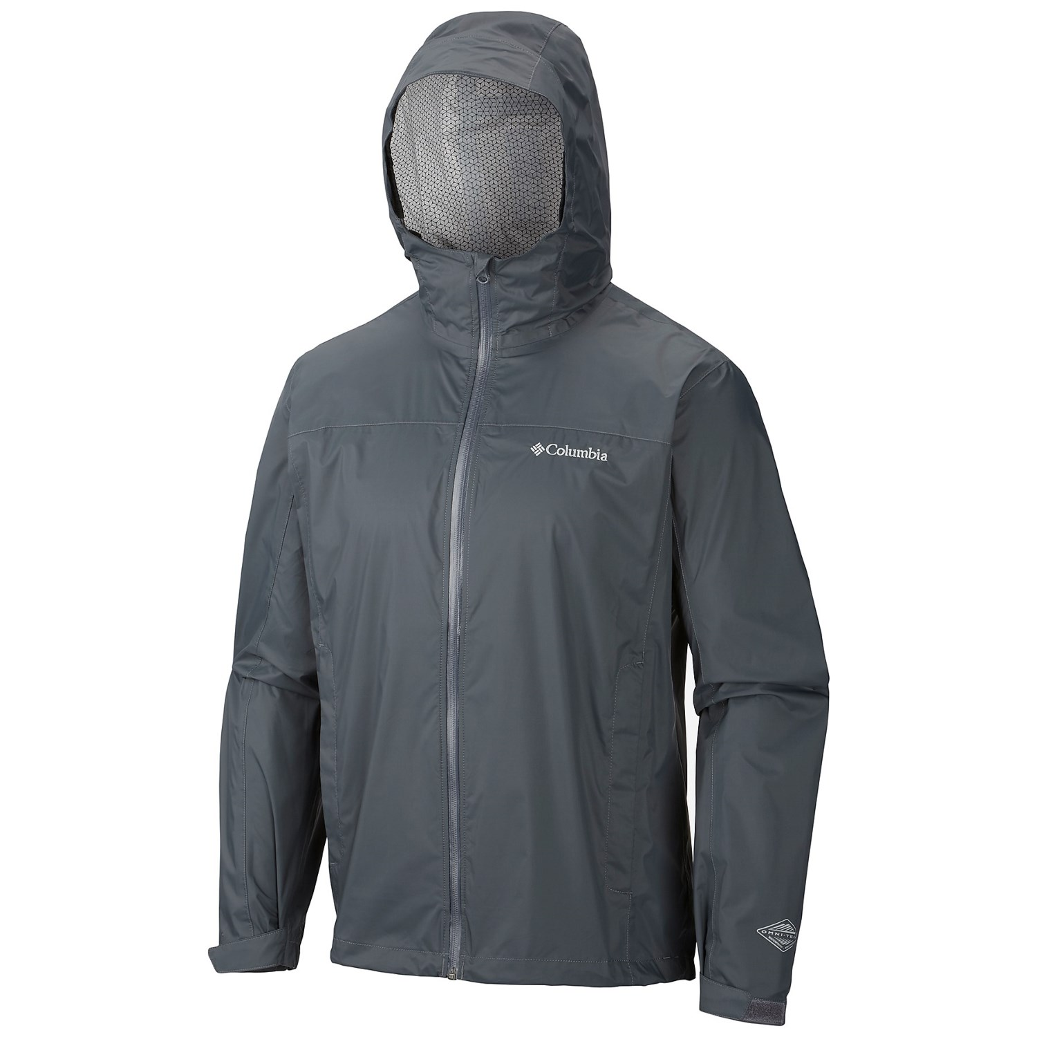 Columbia Sportswear EvaPOURation Omni-Tech® Rain Jacket (For Big
