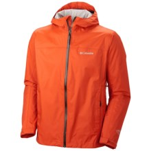 Columbia Sportswear EvaPOURration Omni-Tech® Jacket - Waterproof  (For Men) in Tangy Orange - Closeouts