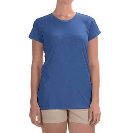 Columbia Sportswear Everyday Kenzie T-Shirt - Short Sleeve (For Women) in Stormy Blue - Closeouts