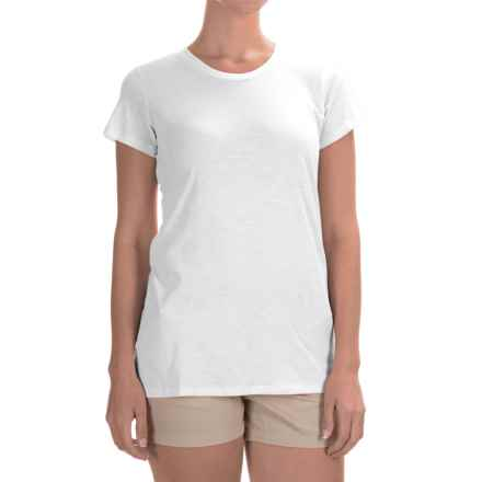 Columbia Sportswear Everyday Kenzie T-Shirt - Short Sleeve (For Women) in White/Beacon - Closeouts