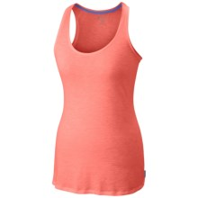 Columbia Sportswear Everyday Kenzie Tank Top - Racerback (For Women) in Coral Flame/Heather - Closeouts
