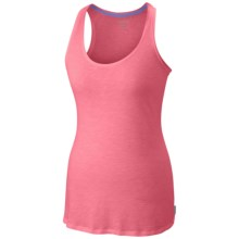 Columbia Sportswear Everyday Kenzie Tank Top - Racerback (For Women) in Tropic Pink/Heather - Closeouts