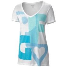 Columbia Sportswear Everyday PFG T-Shirt - Short Sleeve (For Women) in White - Closeouts