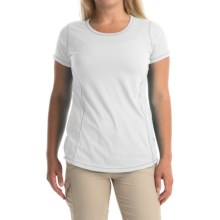 Columbia Sportswear Everything She Needs Omni-Wick® T-Shirt - Short Sleeve (For Women) in White Heather - Closeouts