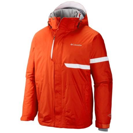 Columbia Sportswear Exact Omni-Heat® Ski Jacket - Waterproof, Insulated (For Men) in State Orange