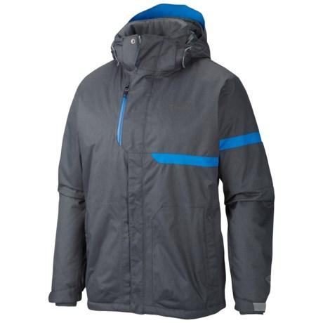 Columbia Sportswear Exact Omni-Heat® Ski Jacket - Waterproof, Insulated (For Men) in Tradewinds Grey