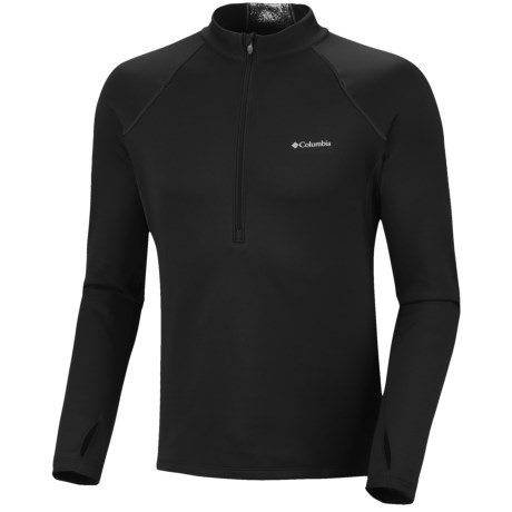 Columbia Sportswear Expedition Extreme Fleece Omni-Heat® Top - Zip Neck, Long Sleeve (For Men) in Black