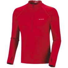 Columbia Sportswear Expedition Extreme Fleece Omni-Heat® Top - Zip Neck, Long Sleeve (For Men) in Bright Red - Closeouts