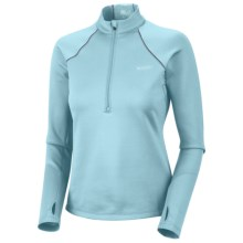Columbia Sportswear Extreme Fleece Top - Heavyweight, Zip Neck, Long Sleeve (For Women) in Blue Vapor - Closeouts