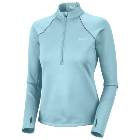 Columbia Sportswear Extreme Fleece Top - Heavyweight, Zip Neck, Long Sleeve (For Women) in Blue Vapor
