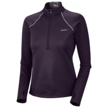 Columbia Sportswear Extreme Fleece Top - Heavyweight, Zip Neck, Long Sleeve (For Women) in Dark Plum - Closeouts