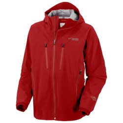 Columbia Sportswear Fast Three Shell Jacket - Waterproof, Titanium (For Men) in Intense Red