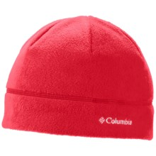 Columbia Sportswear Fast Trek Beanie - Fleece (For Little and Big Kids) in Bright Red - Closeouts