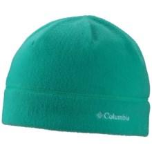 Columbia Sportswear Fast Trek Beanie - Fleece (For Little and Big Kids) in Mayan Green - Closeouts