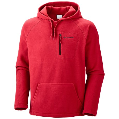 Columbia Sportswear Fast Trek Fleece Hoodie Sweatshirt (For Men) in Rocket