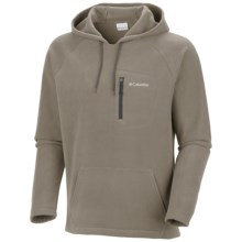 Columbia Sportswear Fast Trek Fleece Hoodie Sweatshirt (For Men) in Tusk - Closeouts