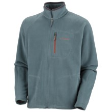 Columbia Sportswear Fast Trek II Fleece Jacket - Full Zip (For Men) in 077 Metal - Closeouts