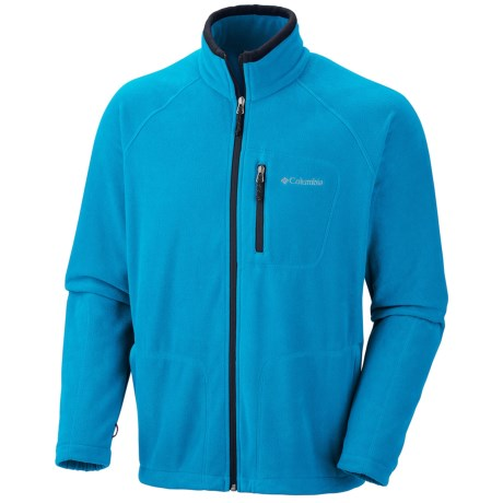 Columbia Sportswear Fast Trek II Fleece Jacket - Full Zip (For Men) in 402 Dark Compass