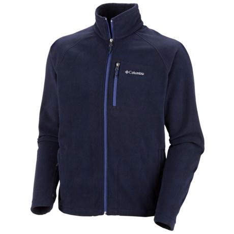 Columbia Sportswear Fast Trek II Fleece Jacket - Full Zip (For Men) in Collegiate Navy