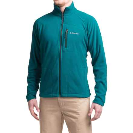 Columbia Sportswear Fast Trek II Fleece Jacket - Full Zip (For Men) in Deep Water/Night Shadow - Closeouts