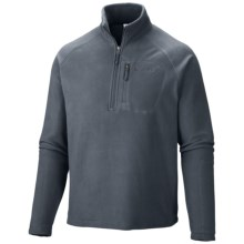 Columbia Sportswear Fast Trek II Fleece Pullover - Zip Neck (For Men) in Graphite - Closeouts