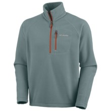 Columbia Sportswear Fast Trek II Fleece Pullover - Zip Neck (For Men) in Metal - Closeouts