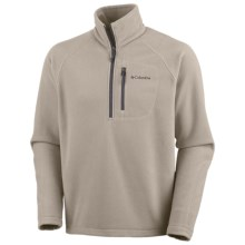 Columbia Sportswear Fast Trek II Fleece Pullover - Zip Neck (For Men) in Tusk - Closeouts