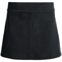 Columbia Sportswear Fern Lake Omni-Shade® Skort - UPF 50 (For Big Girls) in Black - Closeouts
