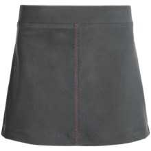 Columbia Sportswear Fern Lake Omni-Shade® Skort - UPF 50 (For Big Girls) in Grill/Haute Pink - Closeouts