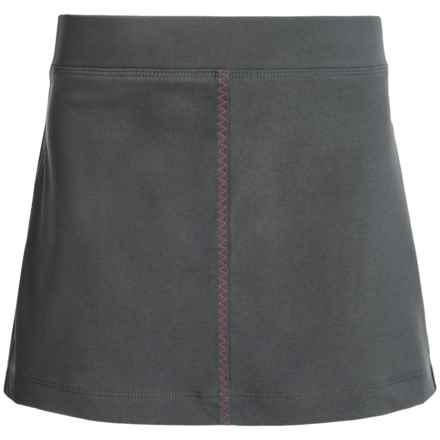 Columbia Sportswear Fern Lake Omni-Shade® Skort - UPF 50 (For Big Girls) in Grill/Haute Pink - Closeouts