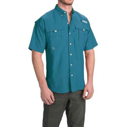 Columbia Sportswear Fishing Shirt - Bahama II, Short Sleeve (For Men) in Deep Marine - Closeouts