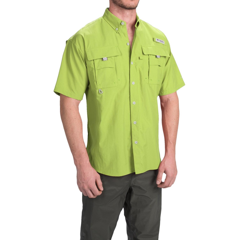 Columbia sportswear fishing shirt bahama ii short for Fishing shirts for men