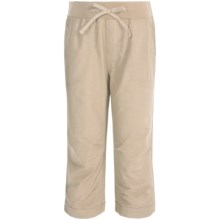 Columbia Sportswear Five Oaks Capris - UPF 15 (For Big Girls) in Fossil - Closeouts