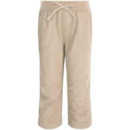 Columbia Sportswear Five Oaks Capris - UPF 15 (For Big Girls) in Fossil - Closeouts