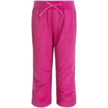 Columbia Sportswear Five Oaks Capris - UPF 15 (For Big Girls) in Haute Pink - Closeouts