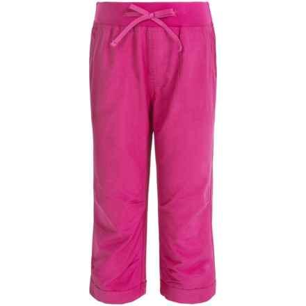Columbia Sportswear Five Oaks Capris - UPF 15 (For Big Girls) in Haute Pink - Closeouts