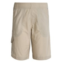 Columbia Sportswear Five Oaks Shorts - UPF 15 (For Big Boys) in Fossil - Closeouts
