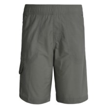 Columbia Sportswear Five Oaks Shorts - UPF 15 (For Big Boys) in Grill - Closeouts