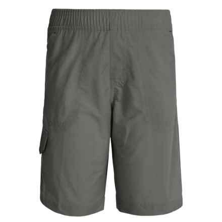 Columbia Sportswear Five Oaks Shorts - UPF 15 (For Big Boys) in Grill - Closeouts