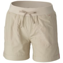 Columbia Sportswear Five Oaks Shorts - UPF 15+ (For Big Girls) in Fossil - Closeouts