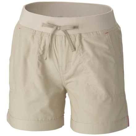 Columbia Sportswear Five Oaks Shorts - UPF 15+ (For Big Girls) in Fossil - Closeouts