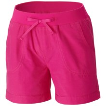 Columbia Sportswear Five Oaks Shorts - UPF 15+ (For Big Girls) in Haute Pink - Closeouts