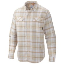 Columbia Sportswear Flare Gun Flannel III Shirt - Long Sleeve (For Men) in Dolomite Plaid - Closeouts