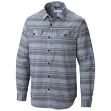 Columbia Sportswear Flare Gun Flannel III Shirt - Long Sleeve (For Men) in Graphite Stripe - Closeouts