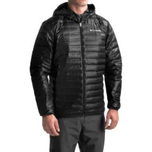 Columbia Sportswear Flash Forward Down Hooded Jacket - 650 Fill Power (For Men) in Black - Closeouts
