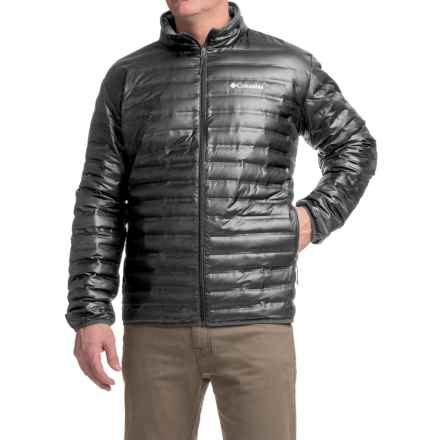 Columbia Sportswear Flash Forward Down Jacket - 650 Fill Power (For Tall Men) in Black - Closeouts