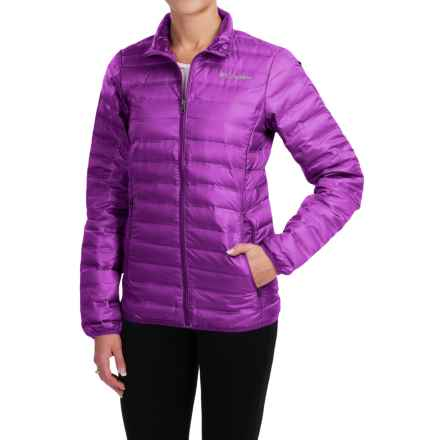 Columbia Sportswear Flash Forward Down Jacket - 650 Fill Power (For Women) in Bright Plum - Closeouts