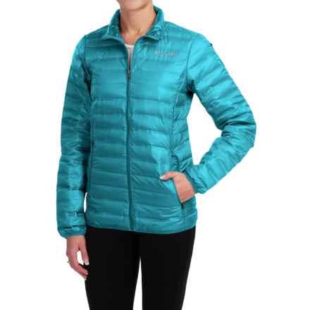 Columbia Sportswear Flash Forward Down Jacket - 650 Fill Power (For Women) in Deep Marine - Closeouts