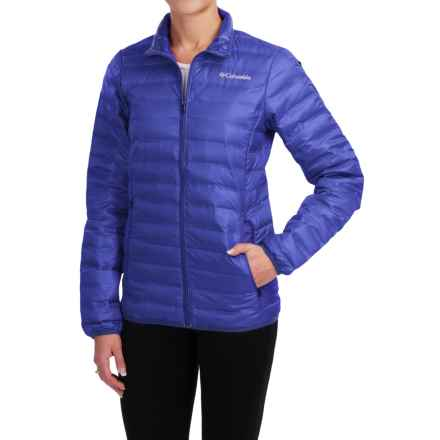 Columbia Sportswear Flash Forward Down Jacket - 650 Fill Power (For Women) in Light Grape - Closeouts